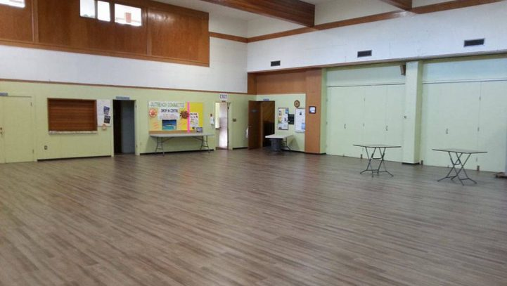 Courtenay soup kitchen floor receives facelift
