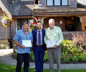 Comox Valley Community Foundation Thanks Retiring Board Members